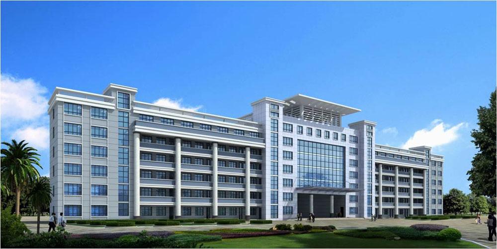 广西理工职业技术学院教学大楼